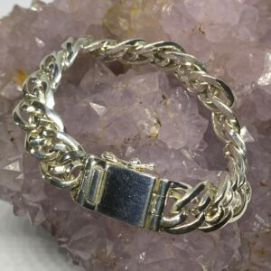 Bali Silver Celtic Chain Mens Bracelet